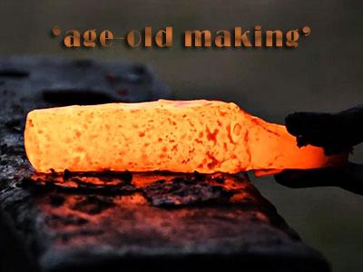 Primitive Kukri Making