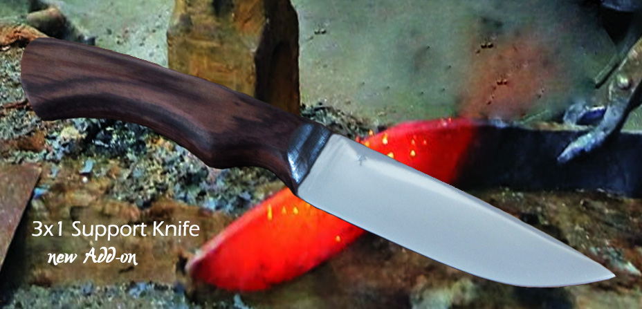 3 in 1 support knife