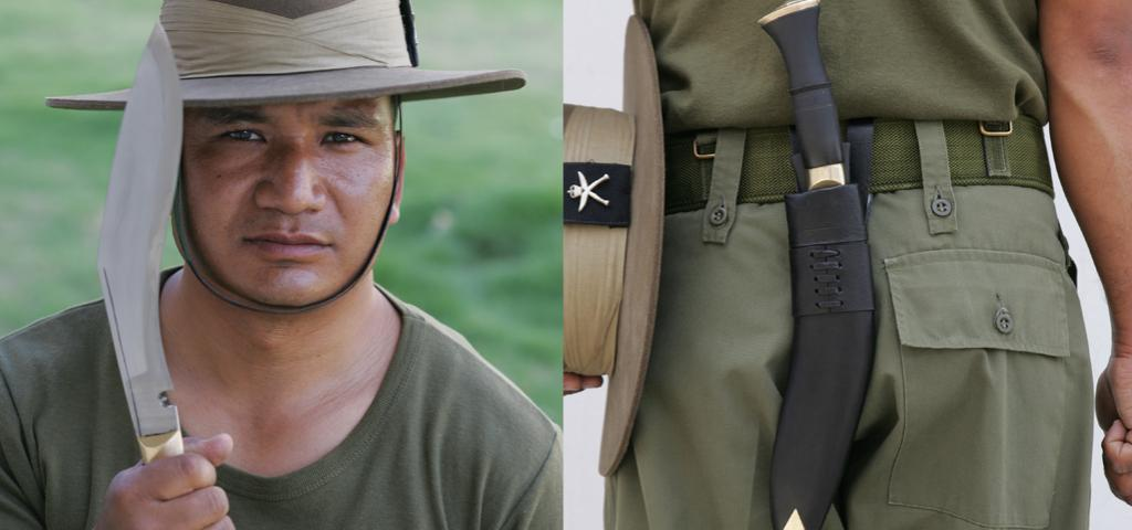 Original Gurkha Kukri knives