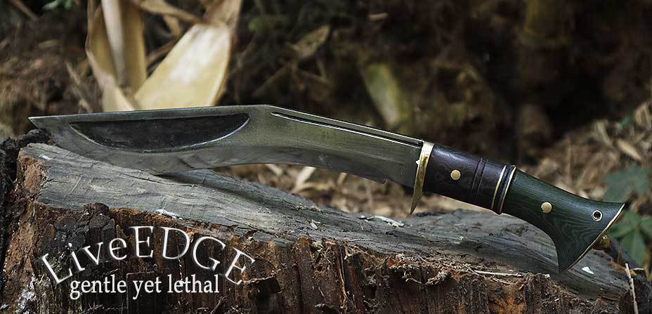 A kukri knife for yourself, your friend and foe..