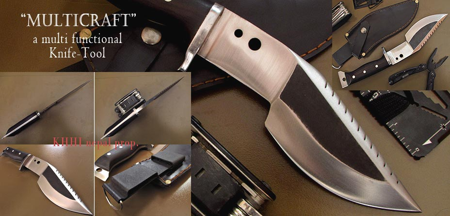 a multi functional knife/tool..