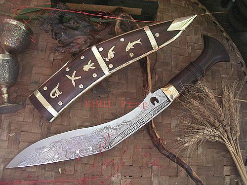 Dhankute Wooden Dragon Kukri