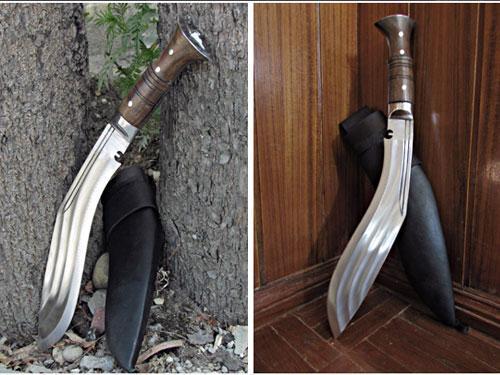 3 Chirra BEAST kukri knife