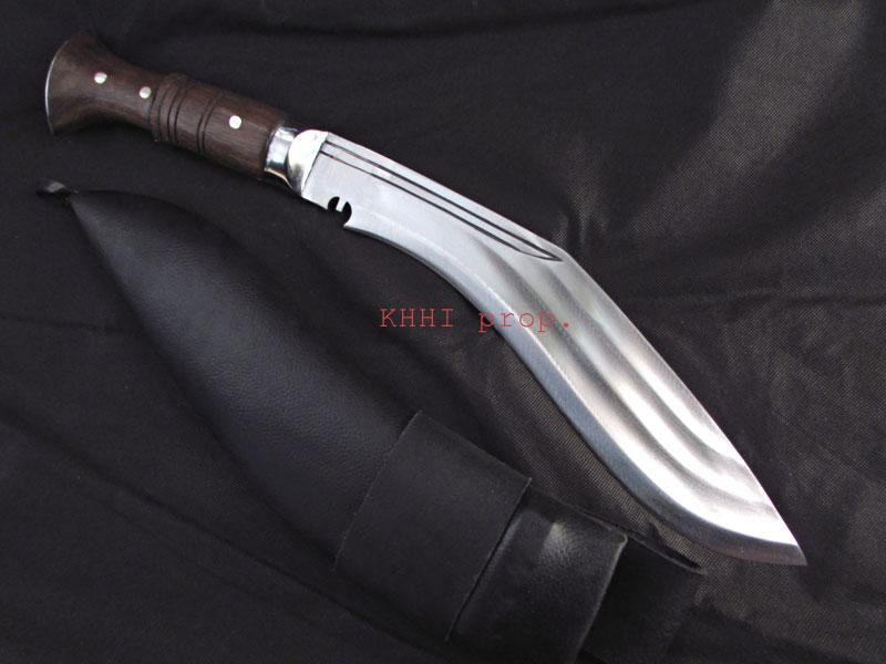 3 Chirra beast khukuri with fullers on blade
