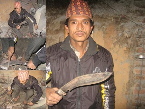 100% handmade kukri BhaktaPure khukuri