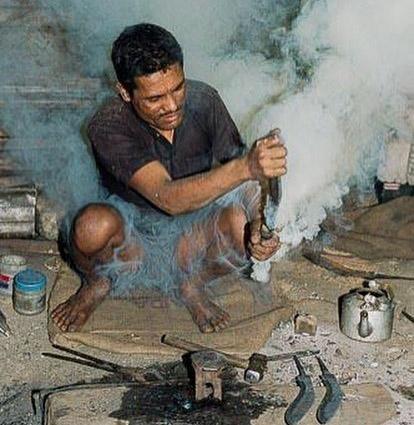 Bhojpur khukuri maker (kami)