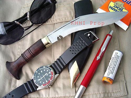 Biltong Pocket Mini Kukri knife