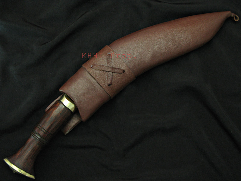 Brown Bond (X factor) kukri with scabbard