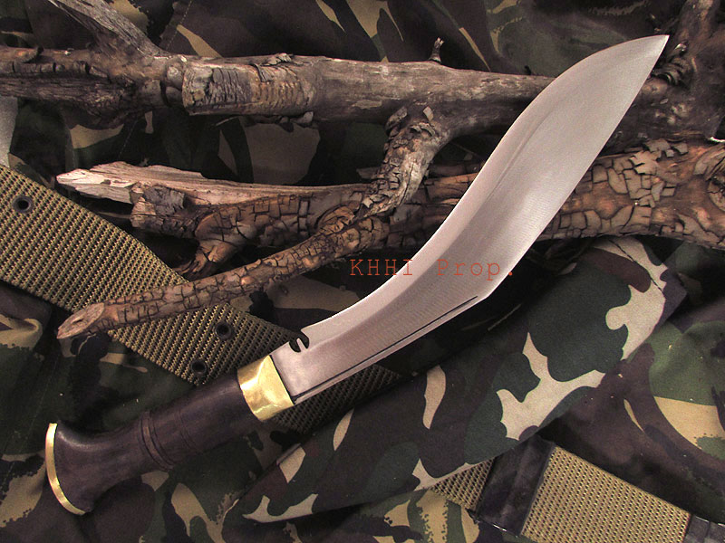 Special Camouflaged kukri for jungle combat