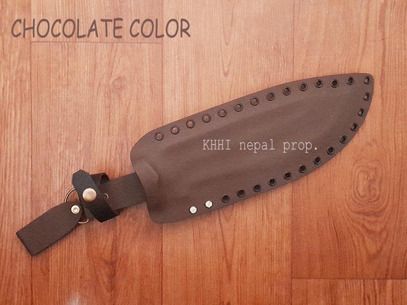 Chocolate Brown color kydex sheath