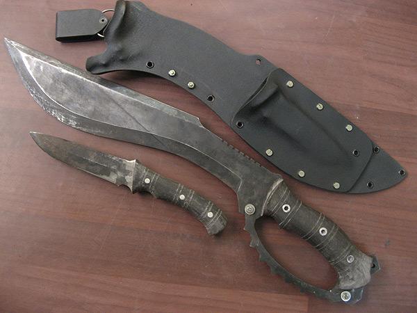 Custom KYDEX Sheath for modern blades