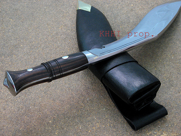 Full tang of the Panawal kukri