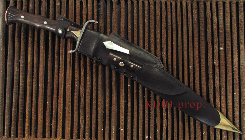 ECHO the Predator kukri-sword full view