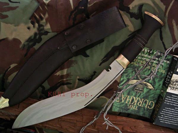 Gurkha combat kukri knife for battle/war