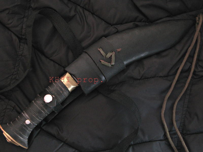 Gurkhe Bodyguard kukri in sheath
