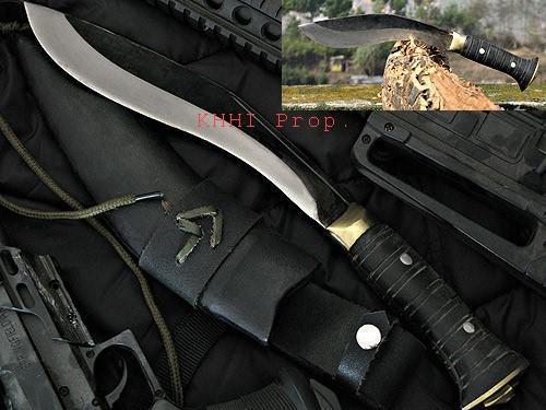 Gurkhe Bodyguard knife side view