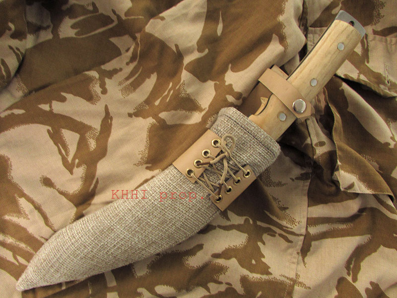Op Enduring Freedom khukuri sheath