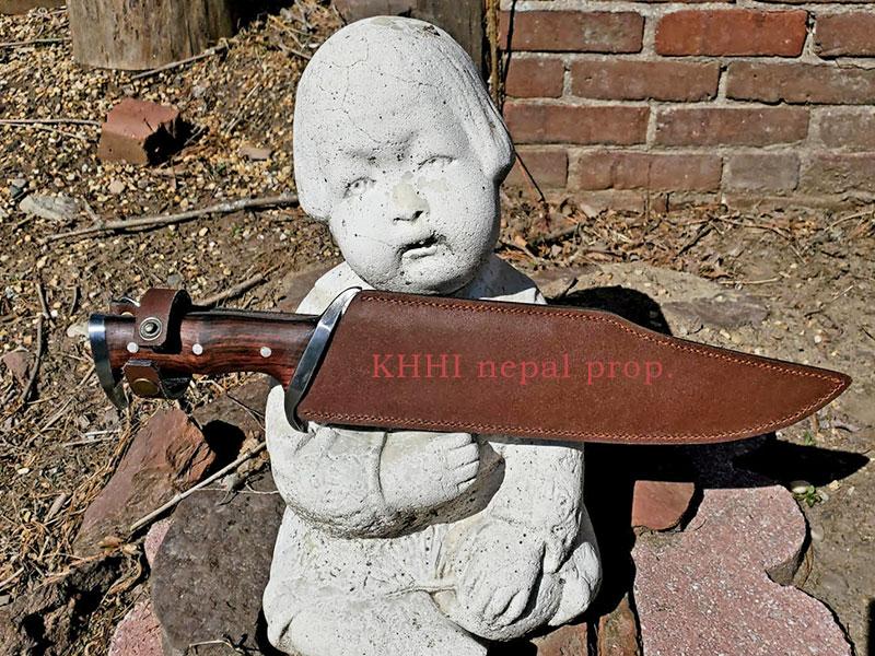 khhi mission iii knife with leather sheath