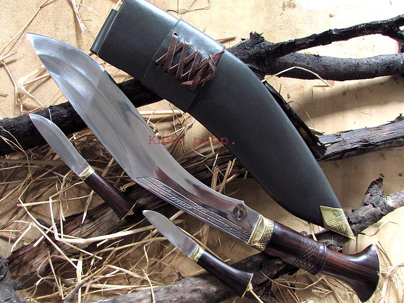 khotang village kukri knife full view