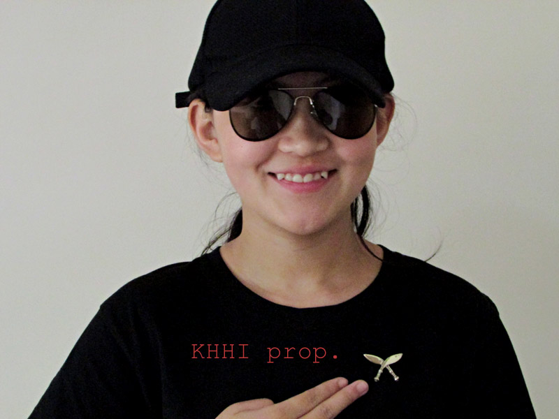 Cross Kukri/Khukuri Badge