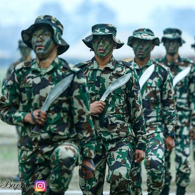 ceremony held at Tundikhel,Kathmandu on Army Day photo by Barsha Shah