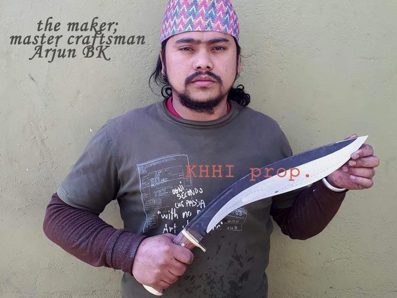 master craftsman Arjun Bk is the main maker of Kali-Astra
