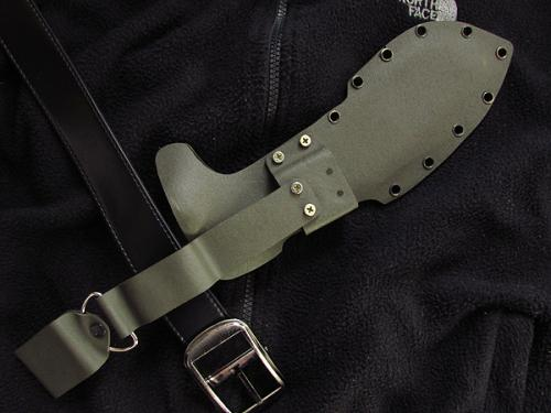KYDEX Sheath for 12 bladed kukri knife