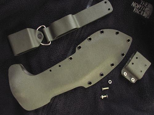 KYDEX Sheath for 12inch blade khukuri