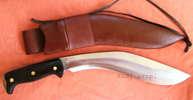 McCurdy modern kukri for ultimate use and feel