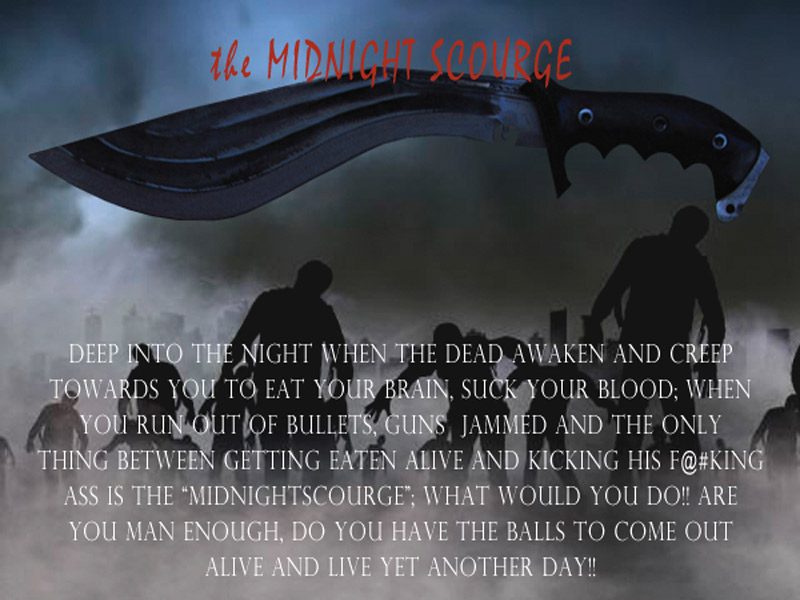 Midnight Scourge; the Zombie Killer