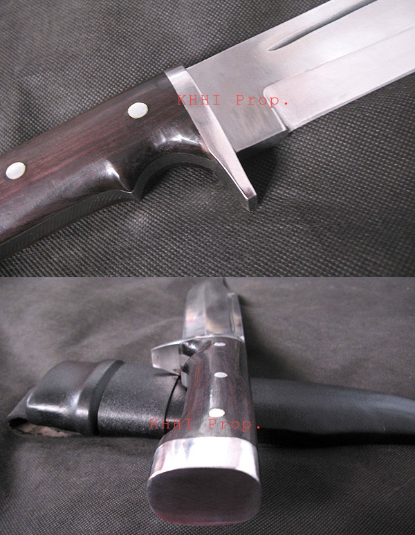 Bowie knife with Hammer and hand gurad