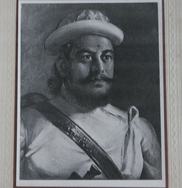 Portrait of Amarsing Thapa, the great army general