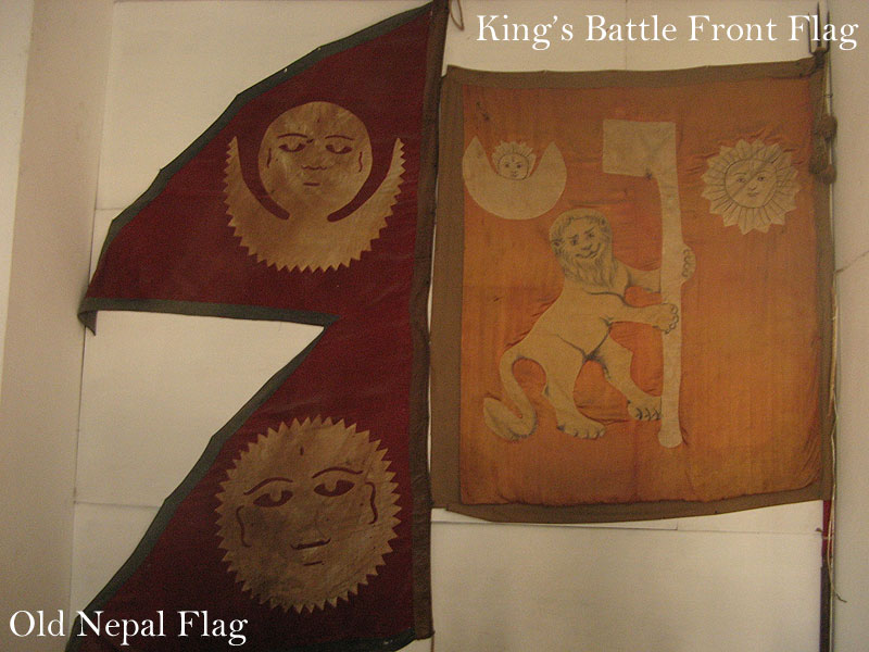 Old Nepal and King Flags