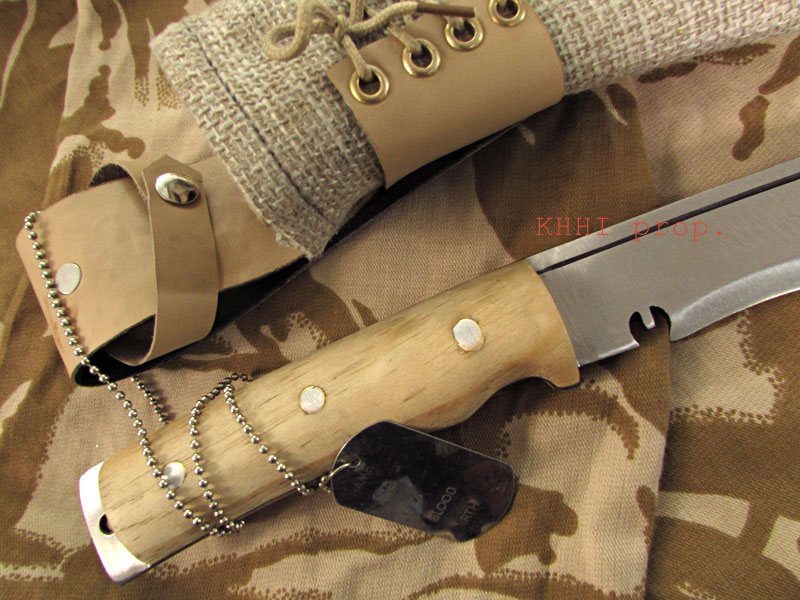 Operation Enduring Freedom army knife