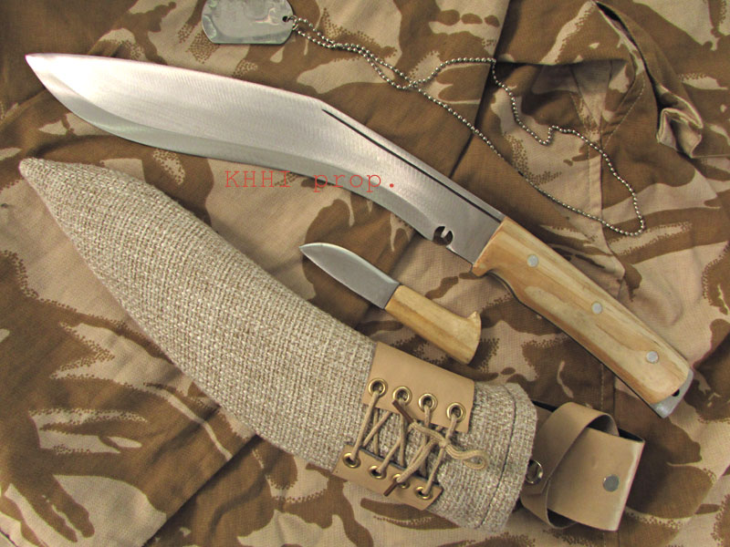 Operation Enduring Freedom military kukri knife