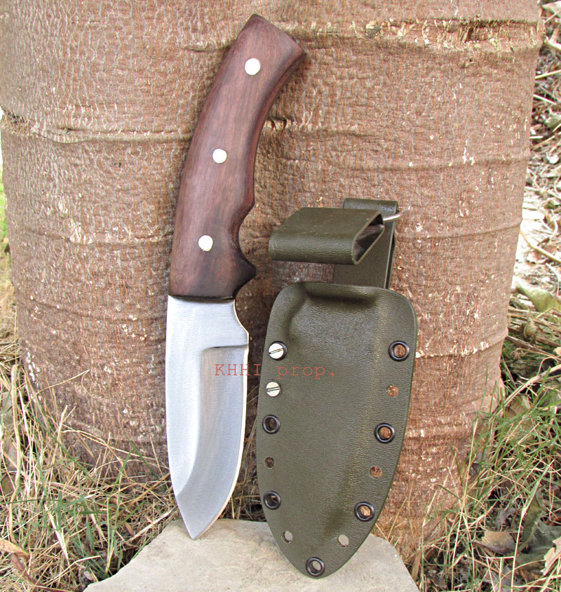 Outdoor Special small bowie with kydex sheath