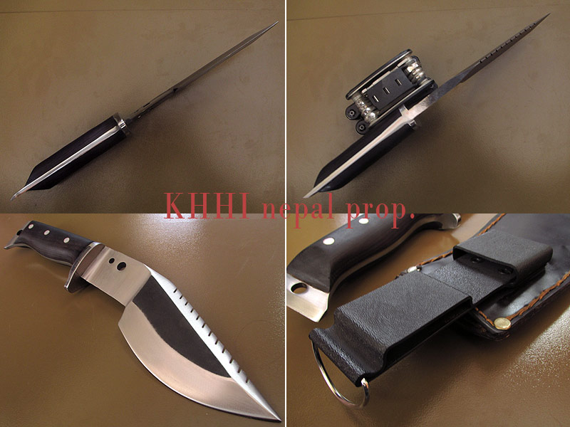 various angles of MultiCraft (Jungle man) knife