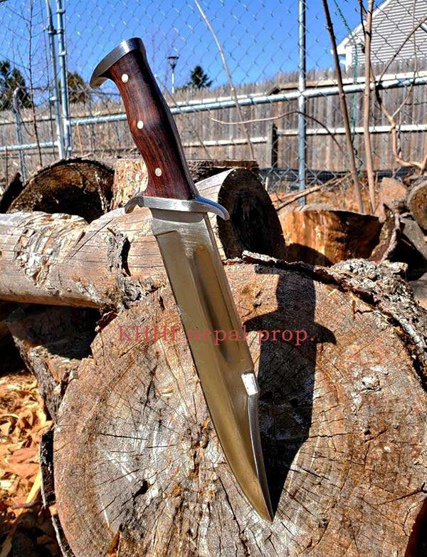 customized Rambo III mission knife
