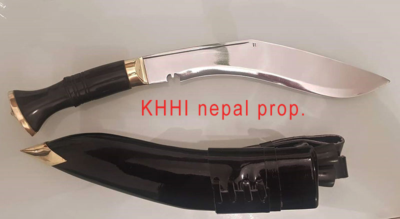the Ceremonial (service no.1) kukri FULL VIEW