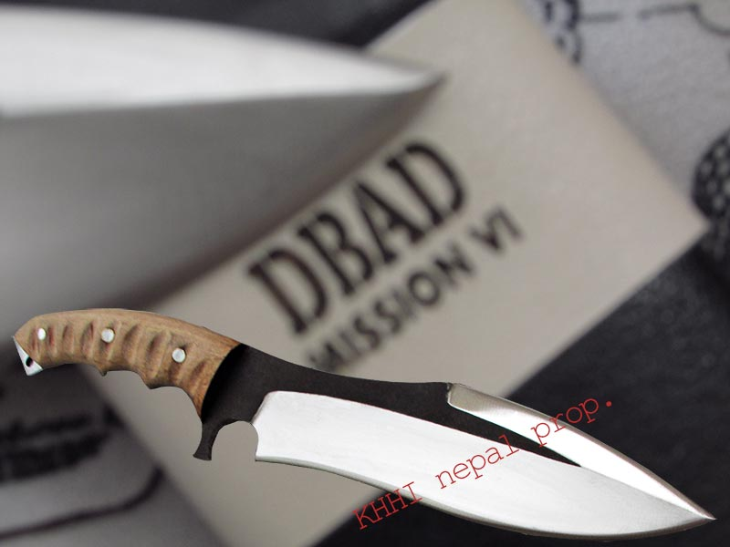 KHHI and DBAD joint project of Rambo heartstopper knife