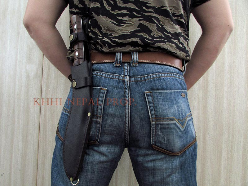 Western sheath back carry