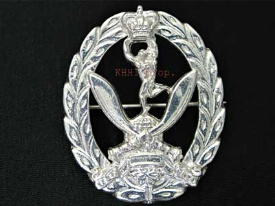 The Queens Gurkha Signal (QGS Brooch)