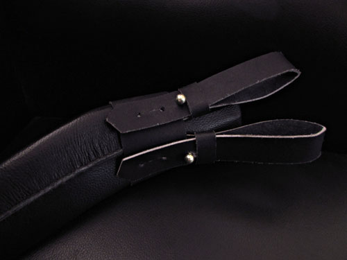 button frog in scabbard of service kukri