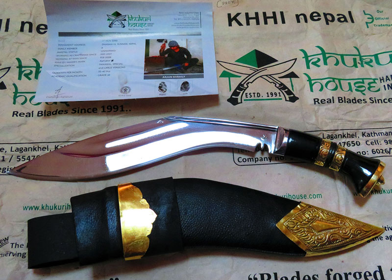 vintage khukuri unboxing photo